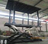 Elevador subterrâneo pesado do carro da capacidade de carregamento