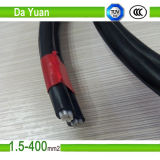 Cable aislado AAC/XLPE a dos caras del ABC del Dachshund 4AWG+4AWG