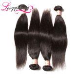Extensão chinesa do cabelo do Virgin não processado de Remy do ser humano de 100%