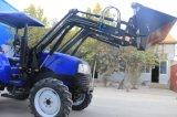 40HP/55HP Tractor con 4in1 la parte frontale Loader, Backhoe, Slasher, Tractor Fel