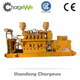Gruppo elettrogeno basso silenzioso insonorizzato del gas naturale di rendimento elevato del consumo 600kw