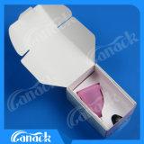 Чашки медицинского силикона многоразовые менструальные с ISO Ce