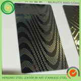 Os produtos quentes para 2016 gravaram chapas de aço inoxidáveis para a decoração