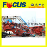Alto Capacity Mobile Concrete Mixing Plant Yhzs75 con Factory Price!