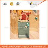 Bolsa de papel de arte de la alta calidad con la cuerda del algodón