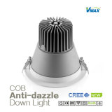 8W Anti-Glare COB Downlight com a Philips Driver/COB Project Downlight