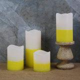 Candela tremula di colore giallo caldo LED