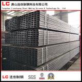 Schwarzes Stahlrohr/Gefäß mit stark prägen