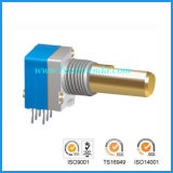 8mm Incremental Encoder met Metal Shaft voor Auidio Equipment