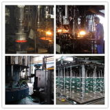 Isolateur en verre à suspension haute qualité avec norme CEI