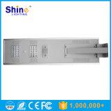 Todos en una luz de calle solar de 30W LED para los 7-8m poste con la batería de litio LiFePO4 incluida (SHTY-230)