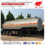 Acoplado barato del petrolero del precio semi para el cargamento del aceite de mesa