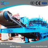 Beweglicher Zerkleinerungsmaschine-Rubber-Tyred Gleisketten-LKW-bewegliche zerquetschenpflanze