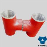 T senza giunte dell'accessorio per tubi della Confinare-Saldatura d'acciaio (CS)