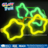 Multi Color Glow Sticks Star Shaped Glasses-Licht-Partei Glow in the Dark