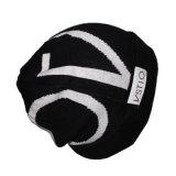 Оптовой сплетенный ваткой шлем Beanie ярлыка связанный шерстями для людей