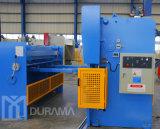 Durama hidráulica Nc / CNC Máquina de corte de guilhotina Corte de aço macio e aço inoxidável