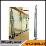 Baluster personalizado da balaustrada do aço inoxidável para a escada ou o balcão
