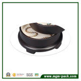 Round Shape Wooden Jewelry Storage Box