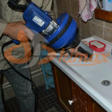 Drenar o injetor da limpeza com todo o trabalho feito com ferramentas