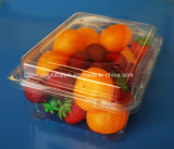 Il contenitore impaccante di frutta di plastica calda di vendita di fabbricazione un OEM approvato dalla FDA da 500 grammi accetta