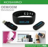 Bluetooth Health Tracker rastreador de ejercicios Pulsera Bluetooth