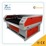 Industrie-Doppelt-Kopf-führende Textillaser-Ausschnitt-Selbstmaschine der Form-TM1610 für Gewebe-Baumwolltuch-Leder-Scherblock-Preis
