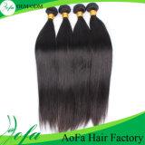Extensão indiana do cabelo humano de Remy do cabelo do Virgin não processado de 100%