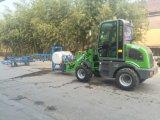 2017 carregador novo da roda da agricultura do projeto Hzm908 Jn908 Zl08 Wl80 mini com A/C