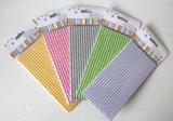 Paja de papel el 100% respetuosa del medio ambiente colorida rayada de Chevron