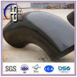 Encaixe de aço da solda de extremidade cotovelo do raio do Short do aço de carbono de 90 graus para vendas por atacado