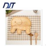 Eco 친절한 코끼리 아이들을%s 목제 큰 접시