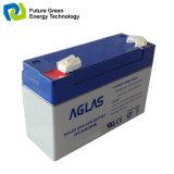 batteria al piombo ricaricabile del AGM 6V7ah per il sistema Emergency