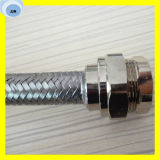 La alta calidad flexible acanala el tubo del metal