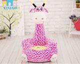 プラシ天の子供のための動物の椅子の最も遅くぬいぐるみの椅子