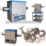 Forni a resistenza di trattamento termico, fornace tubolare di vuoto del laboratorio Tube-1200