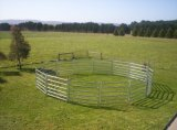 Panneau ovale de bétail de rail
