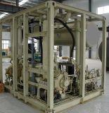 Lucas comprimió el gas natural que aprovisionaba de combustible la estación estándar