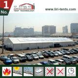 40X60m 알루미늄 옥외 전람 천막, 백색 색깔 PVC 측벽 영구 불변 구조
