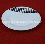 Insieme di pranzo di ceramica con la nuova decalcomania di disegno, piatto di ceramica della Cina