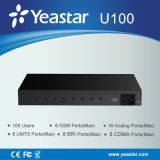Yeastar 1u Rack Mount до IP PBX 100 Users Hybrid