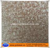 Bobina de acero del color de la superficie áspera PPGI para el azulejo de azotea de piedra