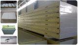 El panel de emparedado aislado calor de la espuma de la PU para la cámara fría, conservación en cámara frigorífica, congelador, sitio de enfriamiento