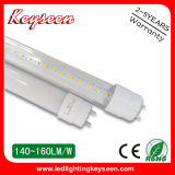 éclairage de 110lm/W T8 0.6m 10W LED, garantie 2years