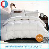 100%年の綿の白いアヒルのガチョウかホテルまたはホームのための羽毛布団の慰める人はキルトにする