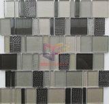 Tuile de mosaïque en cristal combinée par taille mélangée (CFC635)