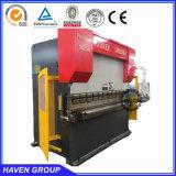 CNCの電気油圧同期鋼板油圧出版物ブレーキ機械WE67k