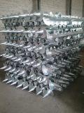 지상 태양 설치 시스템 Brancket 태양 광전지 나선형 포스트의 기초를 위한 나선형 지상 나사 더미