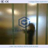 Vidro de teste padrão e vidro figurado e vidro da decoração