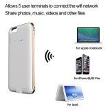 Exemplo do carregador de bateria do banco da potência de Luoov para o sinal de adição do iPhone 6/6s com armazenamento 16GB interno